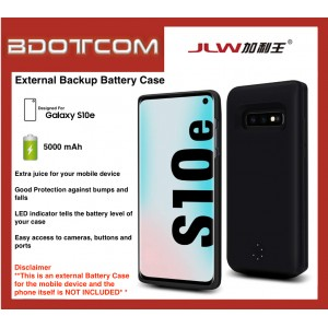 External Battery Case 5000 mAh Power Bank compatible with Samsung Galaxy S10e