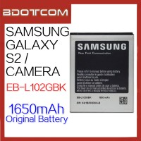 Original Samsung Galaxy S2 / Galaxy Camera EB-L102GBK 1650mAh Standard Battery