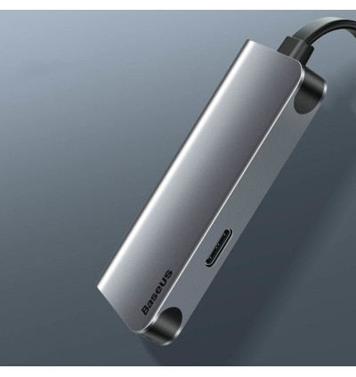 Baseus Little Box 60W Type-C PD Charger + Type-C to 4K HDMI Smart Hub Converter