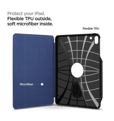 "Original Spigen Smart Fold 2 Protective Case with Pencil Holder for Apple iPad Pro 11"" (2018)"