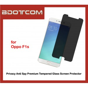 Privacy Anti Spy Premium Tempered Glass Screen Protector for Oppo F1s