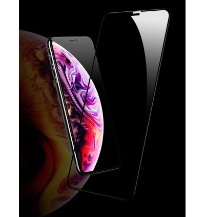 Usams 9D 0.25mm Soft Edge Full Tempered Glass Screen Protector for Apple iPhone XR