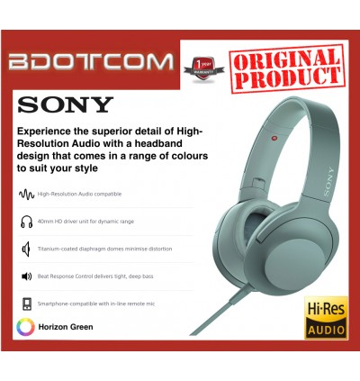 Original Sony MDR-H600A H.Ear on 2 Hi-res Stereo Headphones