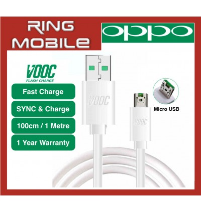 Original OPPO VOOC Fast Charging Micro USB Sync & Charge Cable