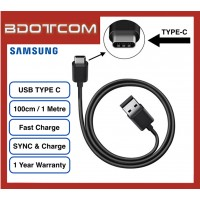 Original Samsung Fast Charging TYPE-C Sync & Charge Cable for Samsung Galaxy Tab S4, Tab S5E, Note 9, Note 8, Note FE, S10, S10+, S10E, S9, S9+