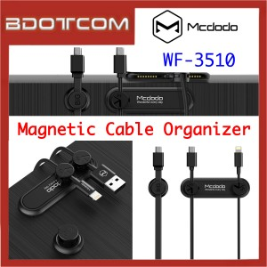 Mcdodo WF-3510 Magnetic Cable Organizer for Round / Flat Cable