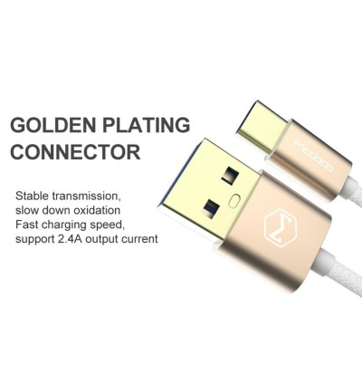 Mcdodo CA-230 USB 3.0 to Type-C Fast Charging Data Cable
