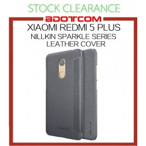 [CLEARANCE] Xiaomi Redmi 5 Plus Nillkin Sparkle series Leather Case