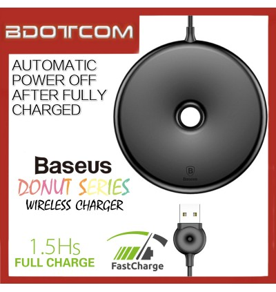 Baseus Donut series 15W Quick Charge Qi Wireless Charging Pad Wireless Charger