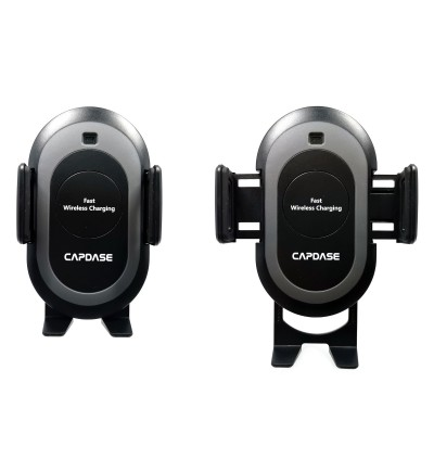 Original Capdase CB Power Fast Wireless Charging Auto-Clamp Car Mount Telescopic Arm