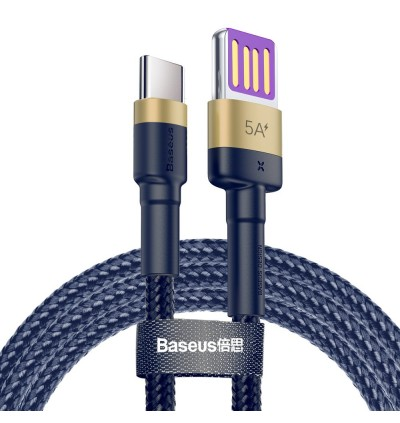 Baseus Cafule HW Quick Charge 40W 5A Nylon Braided Double-sided Blind Interpolation Type-C Cable For Macbook Air, Macbook Pro, Huawei P20, P20 Pro Mate 10, Mate 10 Pro, Mate 20, Mate 20X, Mate 20 Pro, P30, P30 Pro
