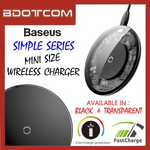 Baseus Simple series Quick Charge Mini Wireless Charger
