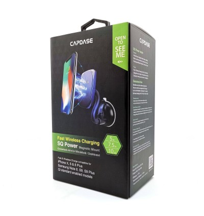 Original Capdase SQ Power Fast Wireless Charging Magnetic Mount Gooseneck Arm