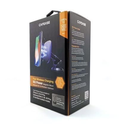 Original Capdase SQ Power Fast Wireless Charging Magnetic Mount Telescopic Arm