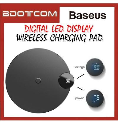 Baseus Digital LED Display Wireless Charger Pad