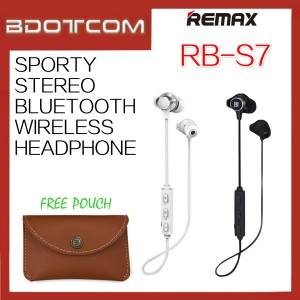 Original Remax RB-S7 Sporty Stereo Bluetooth Wireless Headphone