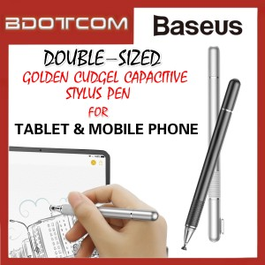 Baseus 2 in 1 Golden Cudgel Capacitive Stylus Pen for Tablet and Mobile Phone