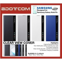 Original Samsung Clear View Cover for Samsung Galaxy Note10+ Note 10 Plus