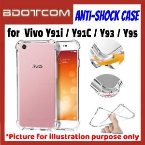 Anti-Shock Drop Proof Protective Case for Vivo Y91i / Y91C / Y93 / Y95