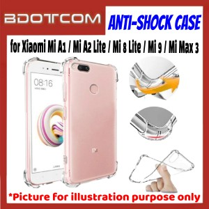 Anti-Shock Drop Proof Protective Case for Xiaomi Mi A1 / Mi A2 Lite / Mi 8 Lite / Mi 9 / Mi Max 3