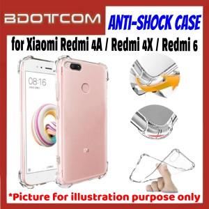Anti-Shock Drop Proof Pretective Case for Xiaomi Redmi 4A / Redmi 4X / Redmi 6