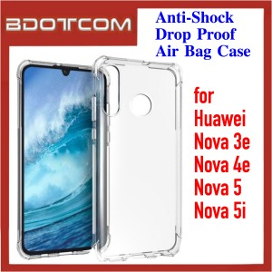 Anti-Shock Drop Proof Air Bag Case for Huawei Nova 3e / Nova 4e / Nova 5 / Nova 5i