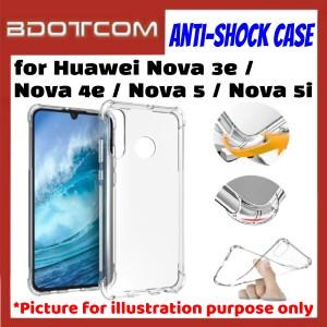 Anti-Shock Drop Proof Protective Case for Huawei Nova 3e / Nova 4e / Nova 5 / Nova 5i