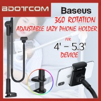 Baseus 360' Rotating Adjustable Lazy Phone Holder for Desktop