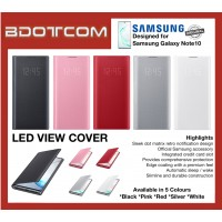 Original Samsung LED Wallet View Cover for Samsung Galaxy Note10 Note 10