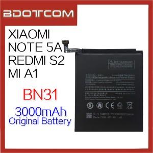 Original Xiaomi Redmi Note 5A / Mi A1 / Redmi S2 BN31 3000mAh Standard Battery