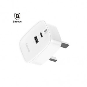 Baseus Funzi Series USB port +Type-C Charger