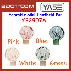Yase YS2907A Adorable Mini Portable Handheld Desk Desktop Fan