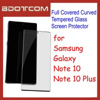 Full Covered Curved Tempered Glass Screen Protector for Samsung Galaxy Note 10 / Note 10 Plus