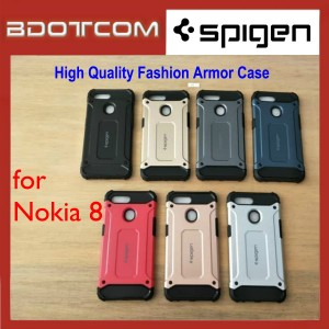 High Quality Spigen Fashion Armor Case for Nokia 8