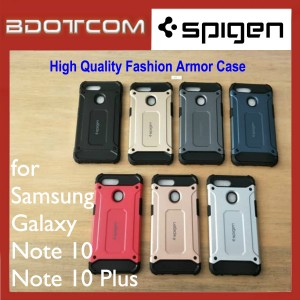 High Quality Spigen Fashion Armor Case for Samsung Galaxy Note 10 / Note 10 Plus