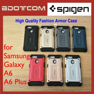 High Quality Spigen Fashion Armor Case for Samsung Galaxy A6 / A6 Plus