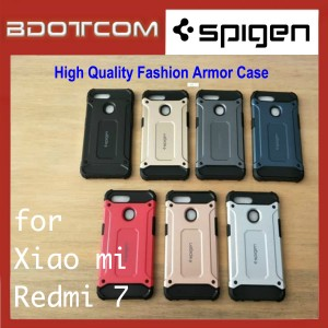 High Quality Spigen Fashion Armor Case for Xiaomi Redmi 7