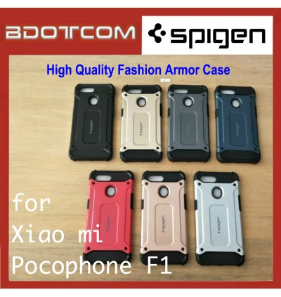 High Quality Spigen Fashion Armor Case for Xiaomi Pocophone F1