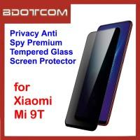 Privacy Anti Spy Premium Tempered Glass Screen Protector for Xiaomi Mi 9T