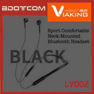 Viaking LY002 Sport Comfortable Neck-Mounted Bluetooth Headset