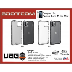 Original UAG PLYO Series Protective Case for Apple iPhone 11 Pro Max