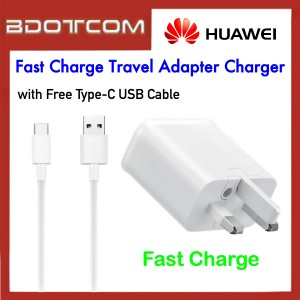 Huawei Fast Charge Travel Adapter Charger with TYPE-C USB Cable for Huawei P20, P20 Pro Mate 10, Mate 10 Pro, Mate 20, Mate 20X, Mate 20 Pro, P30, P30 Pro