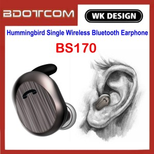 WK Design BS170 Hummingbird Single Wireless Bluetooth Earphone