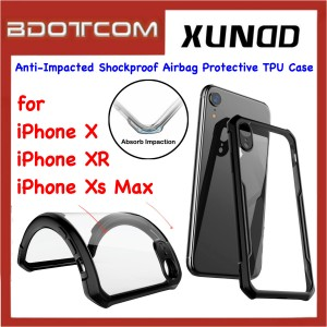 Xundd Beetle Series Anti-Impacted Shockproof Airbag Protective TPU Case for Apple iPhone X / iPhone XR / iPhone Xs Max