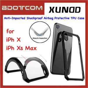 Xundd Beetle Series Anti-Impacted Shockproof Airbag Protective TPU Case for Apple iPhone X / iPhone Xs Max