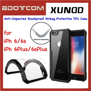Xundd Beetle Series Anti-Impacted Shockproof Airbag Protective TPU Case for Apple iPhone 6 / 6s / 6 Plus / 6s Plus