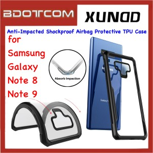 Xundd Beetle Series Anti-Impacted Shockproof Airbag Protective TPU Case for Samsung Galaxy Note 8 / Note 9