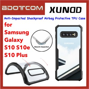 Xundd Beetle Series Anti-Impacted Shockproof Airbag Protective TPU Case for Samsung Galaxy S10 / S10e / S10 Plus