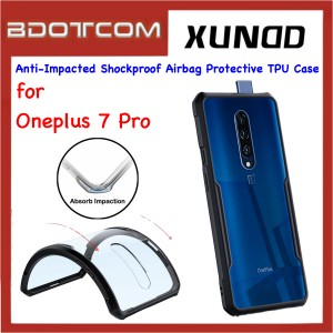 Xundd Beetle Series Anti-Impacted Shockproof Airbag Protective TPU Case for Oneplus 7 Pro