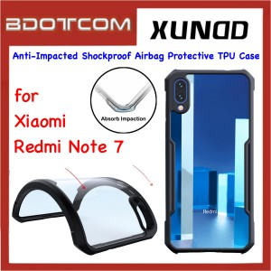 Xundd Beetle Series Anti-Impacted Shockproof Airbag Protective TPU Case for Xiaomi Redmi Note 7